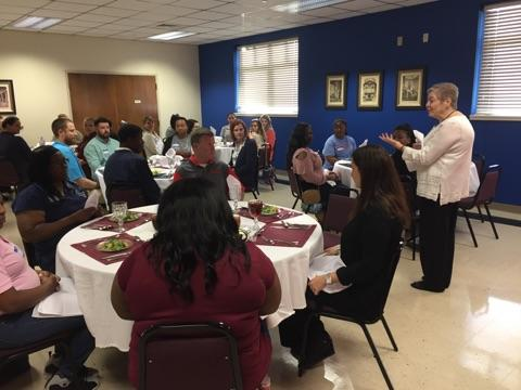 desoto students attend dining class