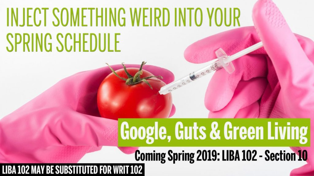 LIBA 102 Google, Guts, and Green