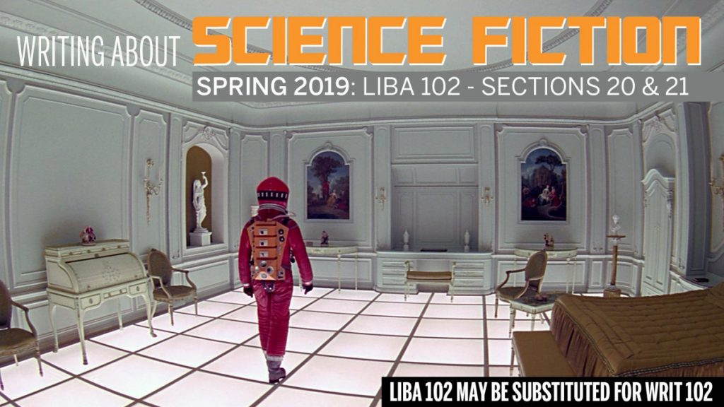 LIBA 102 Writing about Science Fiction