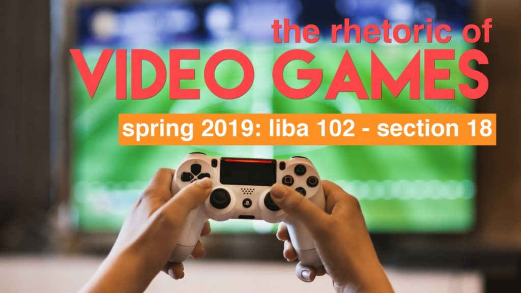 LIBA 102 Writing about Video Games